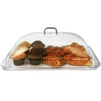 Polycarbonate Rectangular Cake Dome with Tray | Cake Plate ...