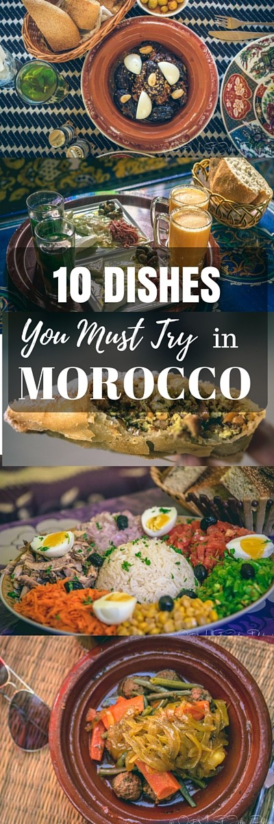 There is a lot more to enjoy at a Moroccan dinner table than tea. The cuisine here is renowned for the use of complex spices and herbs that make even the most basic dishes full of flavour! Here are just a few of our favourites.