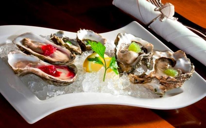 Oysters at Seastar Restaurant & Raw Bar. Seattle, WA. Photo via Seastar Restaurant Facebook