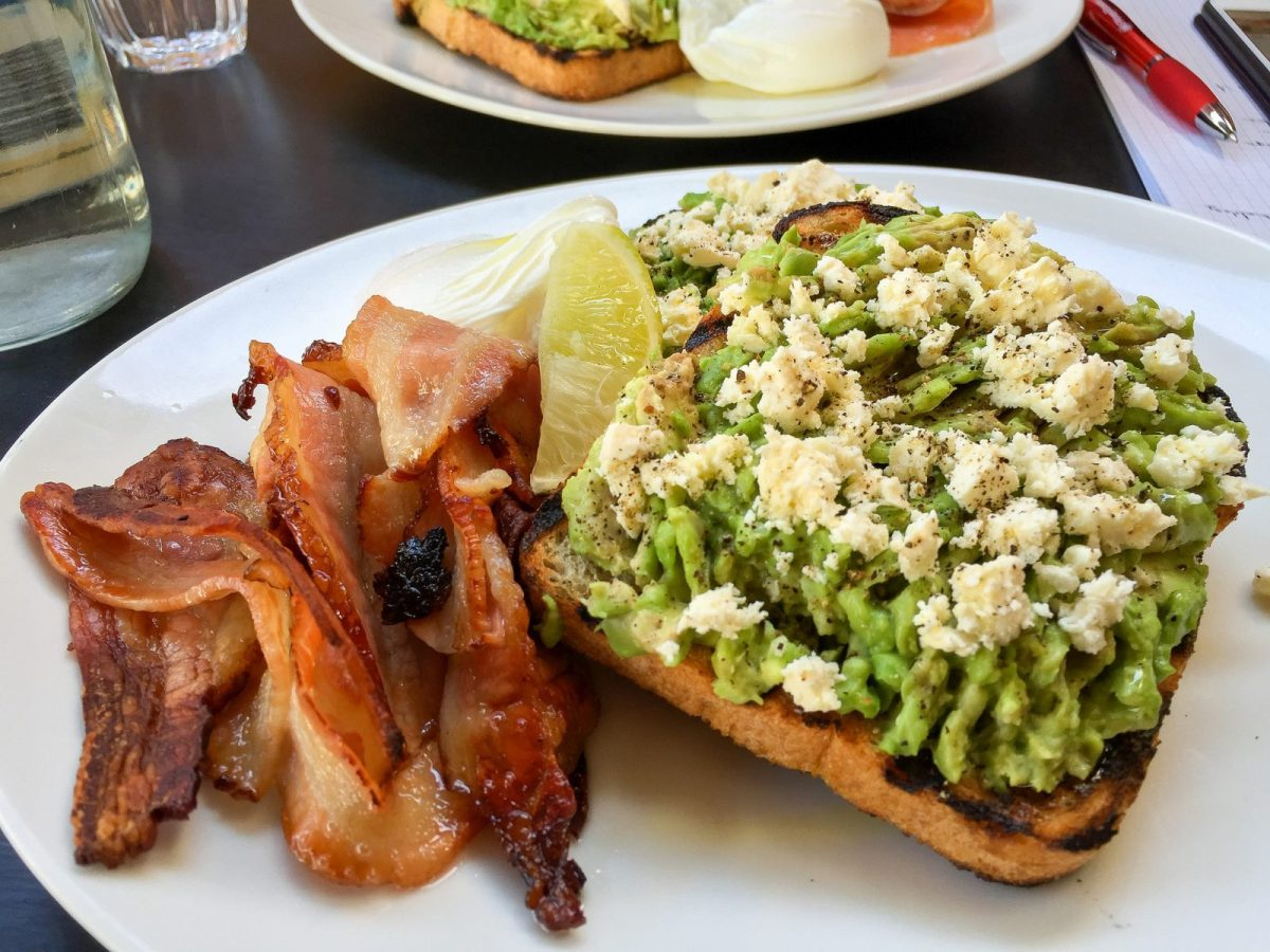 Smashed avocado on toast at Speakeasy in South Yarra. Photo by Katherine Lim via Flickr CC
