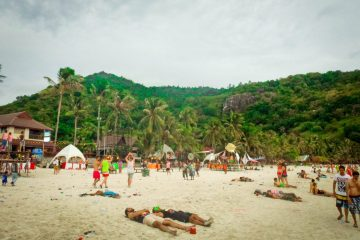 The aftermath, Full Moon Party, Koh Phanghan, Thailand