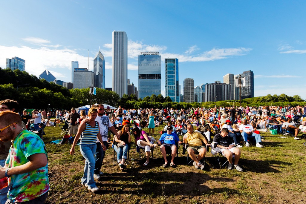 Chicago Blues Festival. Photo by tomanouc via Flickr CC