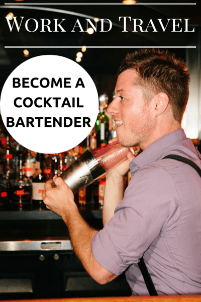 Work and Travel Abroad Series features travelers who found unique jobs that sustain their long term travels. Today, we talk about being a Cocktail Bartender