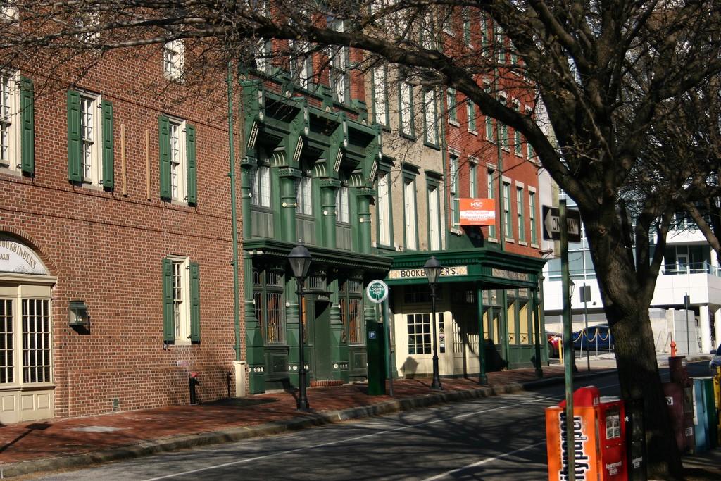 Old City, Philadelphia. Photo by Mark Stephenson via Flickr CC