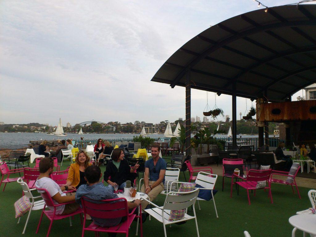 Island Bar on Cockatoo Island, Sydney. Photo credit: Deborah & Kevin via Flickr CC
