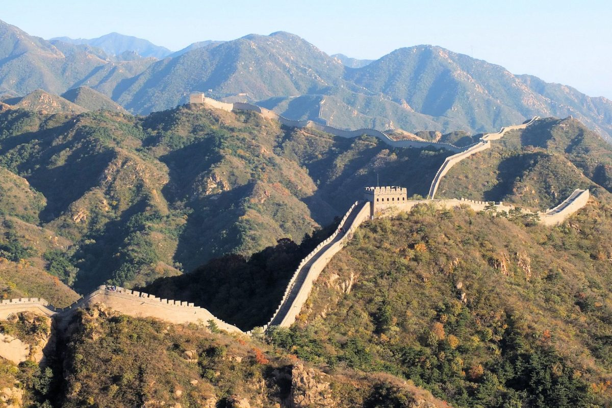 Great Wall of China. Photo by Keith Roper via Flickr CC