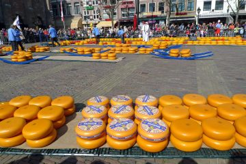 Cheese Market in Alkmaar, Netherlands