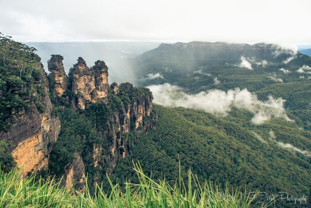 Three Sisters, Blue Mountains, NSW, Australia