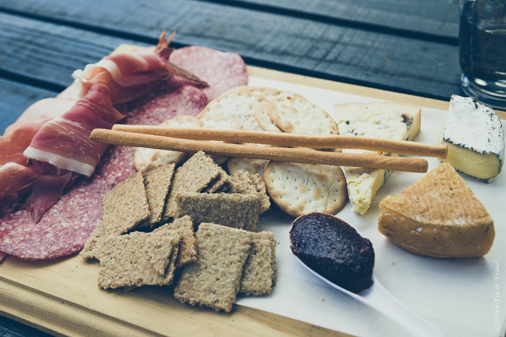Our custom 3-cheese board from Hunter Valley Cheese Company