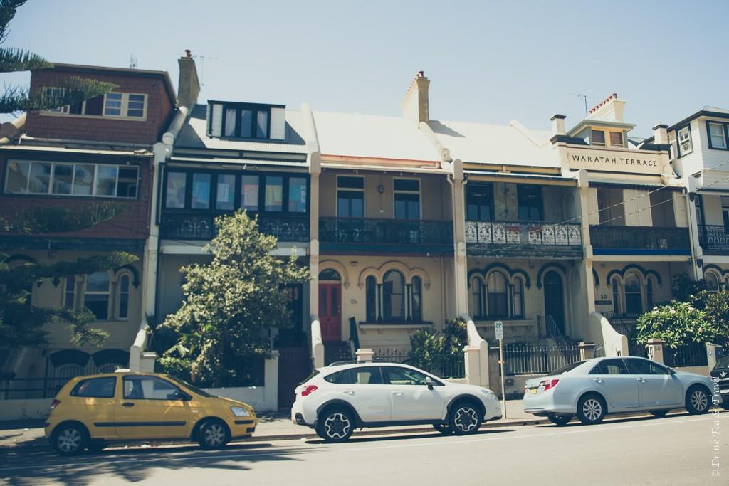 Cute houses in Newcastle. Australia