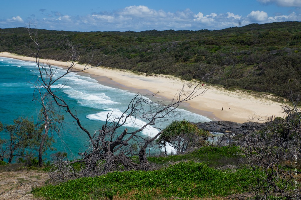 View of Alexandria Bay from Hell's Gates, Noosa National Park
