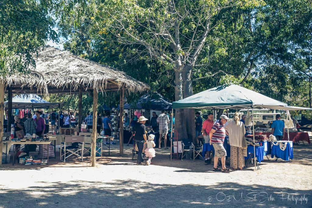 Broome Courthouse Markets. Western Australia