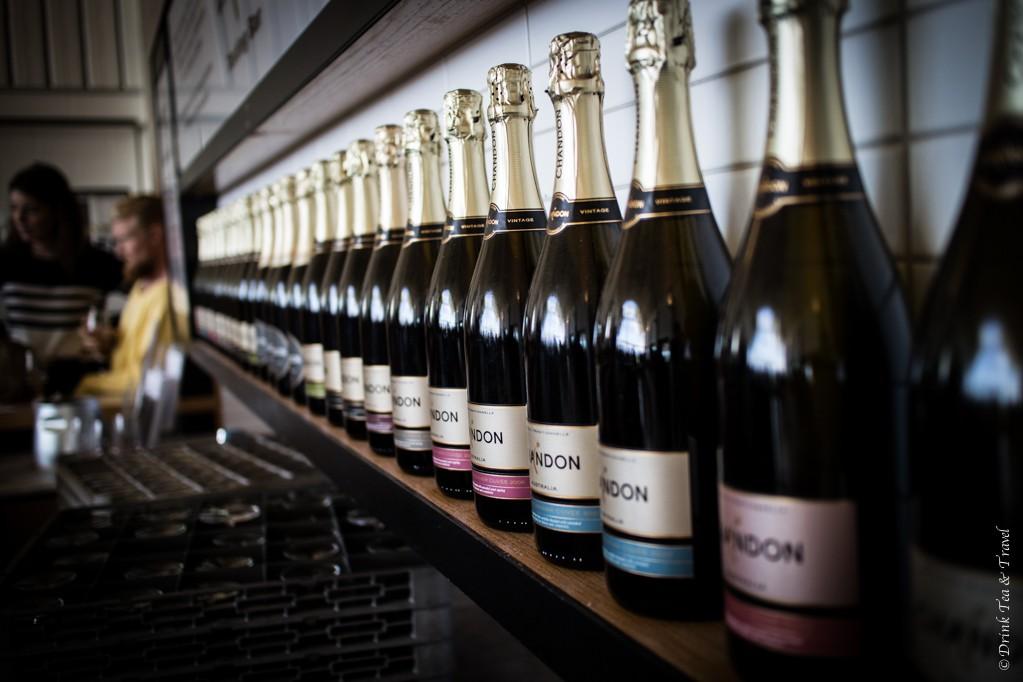 Inside Domaine Chandon Winery