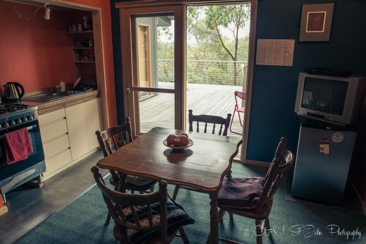 Airbnb cabin in Yarra Valley, Australia
