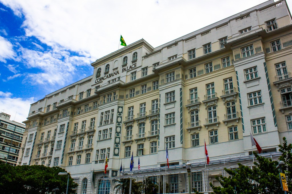Copacabana Palace in Rio de Jainero, Brazil