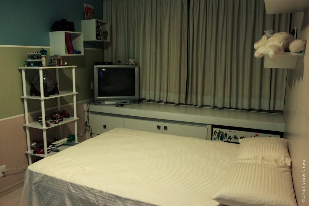 Kids room in the 3 Bedroom Apartment in Brasilia