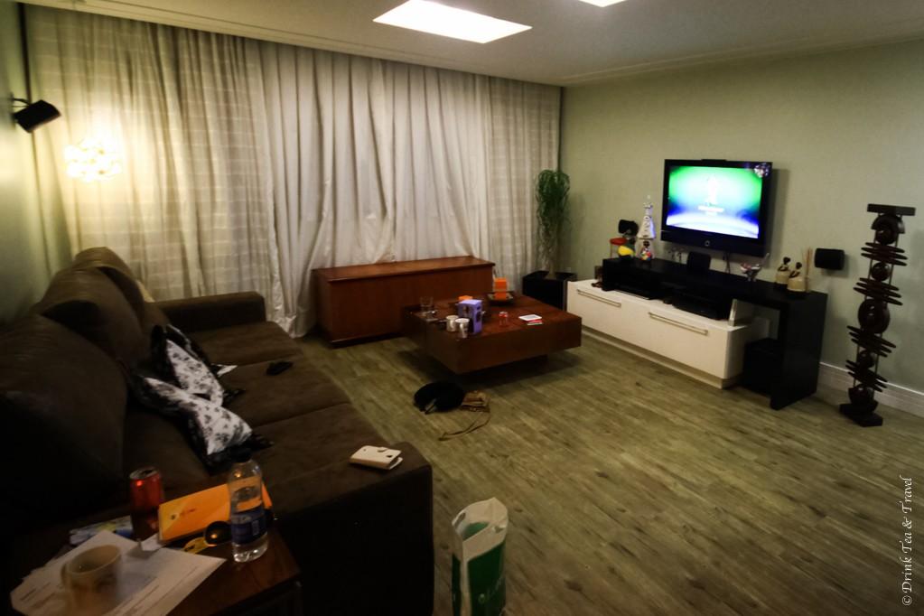 Living room in 3 bedroom apartment in Brazilia