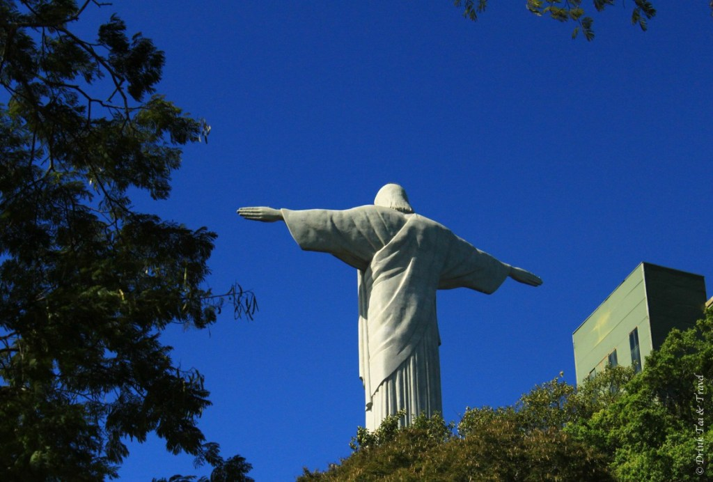 Christ the Redeemer, sitting on top of Corcovado Mountain
