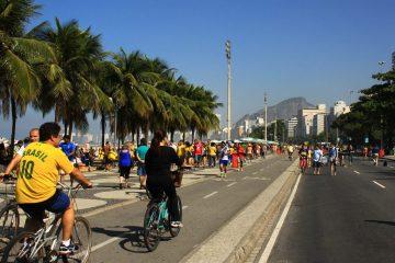 Capacabana Beach during World Cup 2014, Rio de Janeiro, Brazil
