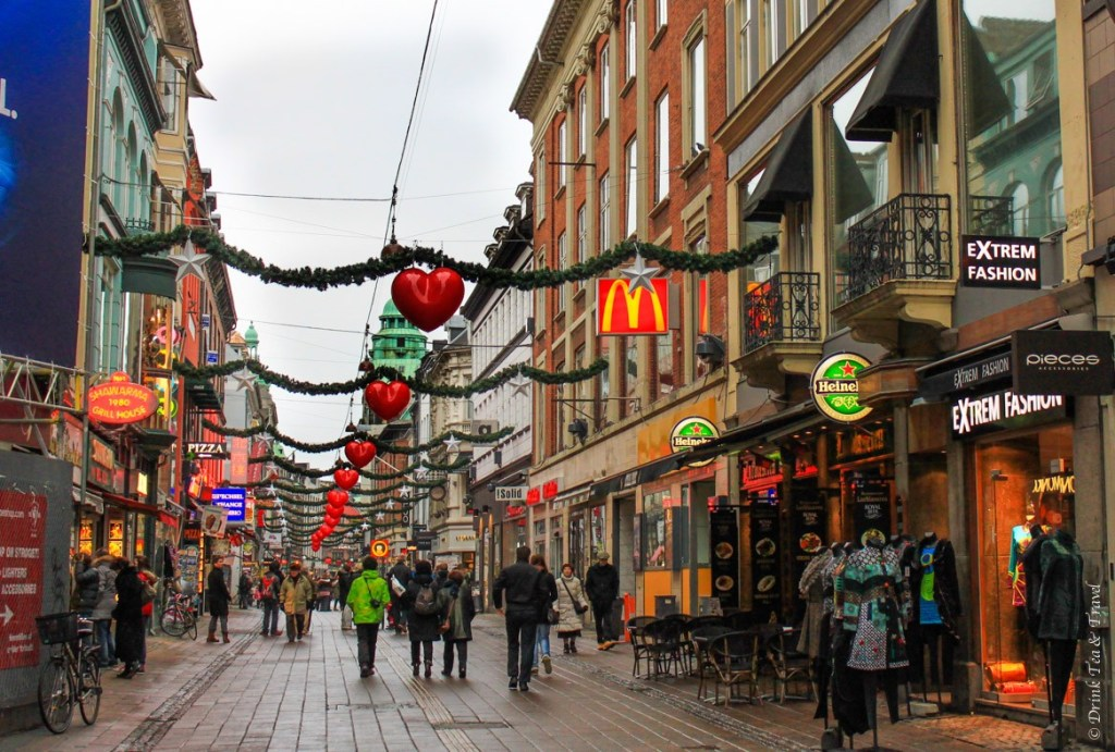 Shopping along Strøget