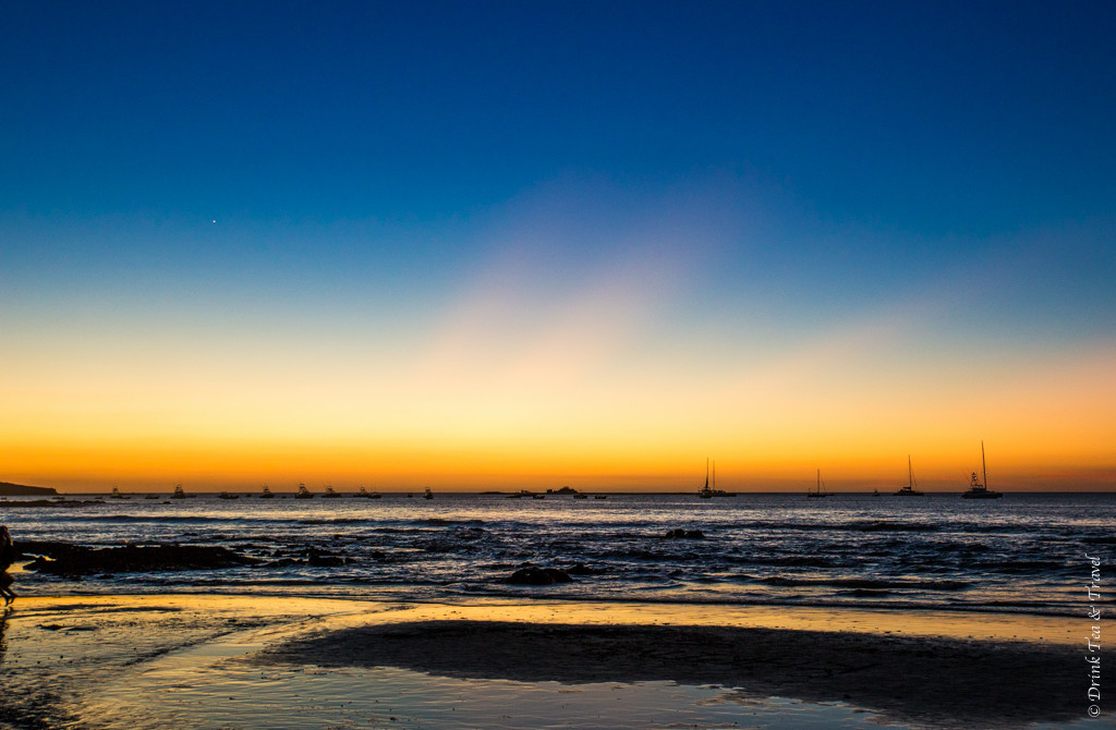 Sunset at Playa Tamarindo, Guanacaste, Costa Rica