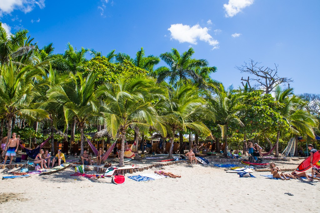 When in Costa Rica: relax and go with the flow! Playa Avellanas, Guanacaste, Costa Rica