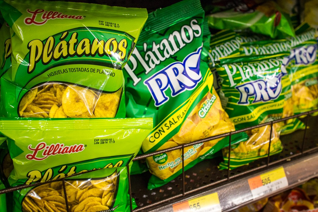 Costa Rican Supermarket: Platanos
