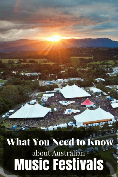 It's almost time for the 2014/2015 Australian Music Festival season! Get ready by reading up on everything you need to know about Australian Music Festivals