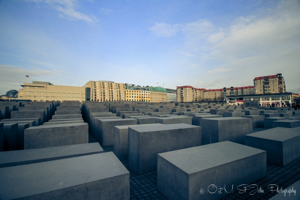 Memorial to the Murdered Jews of Europe, Berlin. Germany