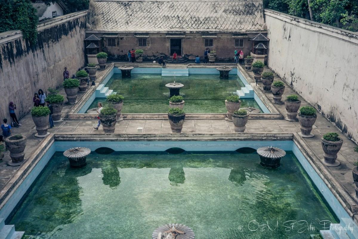 Taman Sari water pools, Yogyakarta. Java. Indonesia