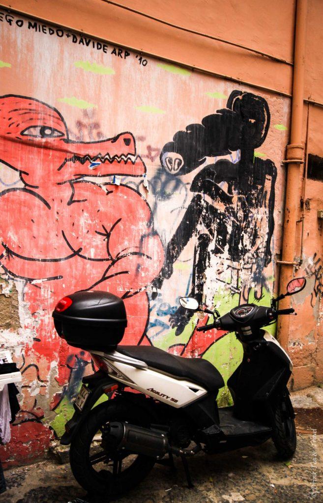 Street art in Naples, Amalfi Coast