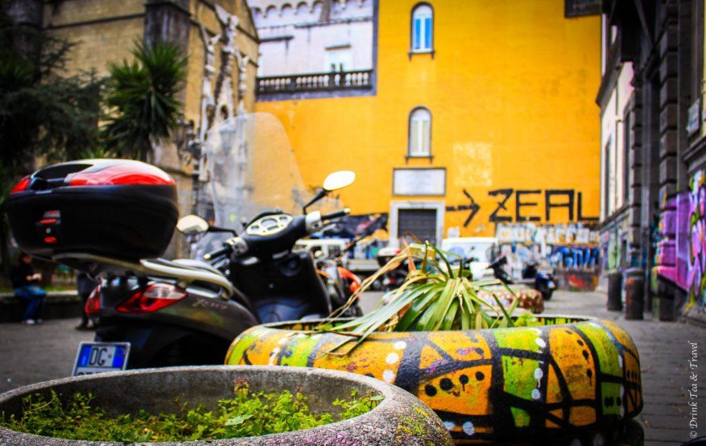 Street art in Naples, Amalfi Coast, Italy