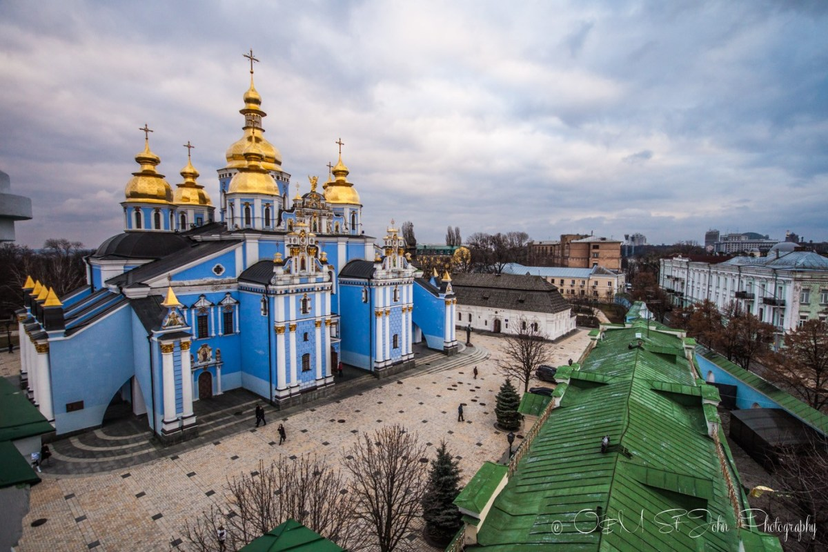 St Michael's Golden Dome Monastery, Kiev. Ukraine