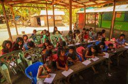 Teaching at a dumpsite school in Liloan, Cebu, Philippines