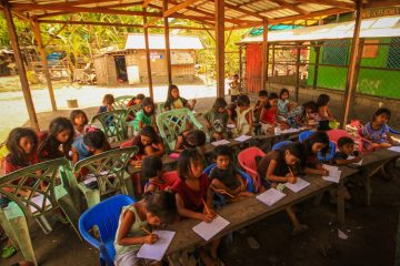 Teaching at a dumpsite school in Liloan, Cebu, Philippines