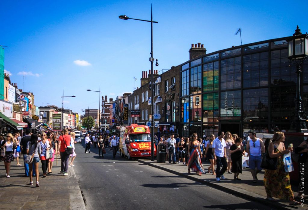The local crowds love to visit Camden Town, London on the weekends