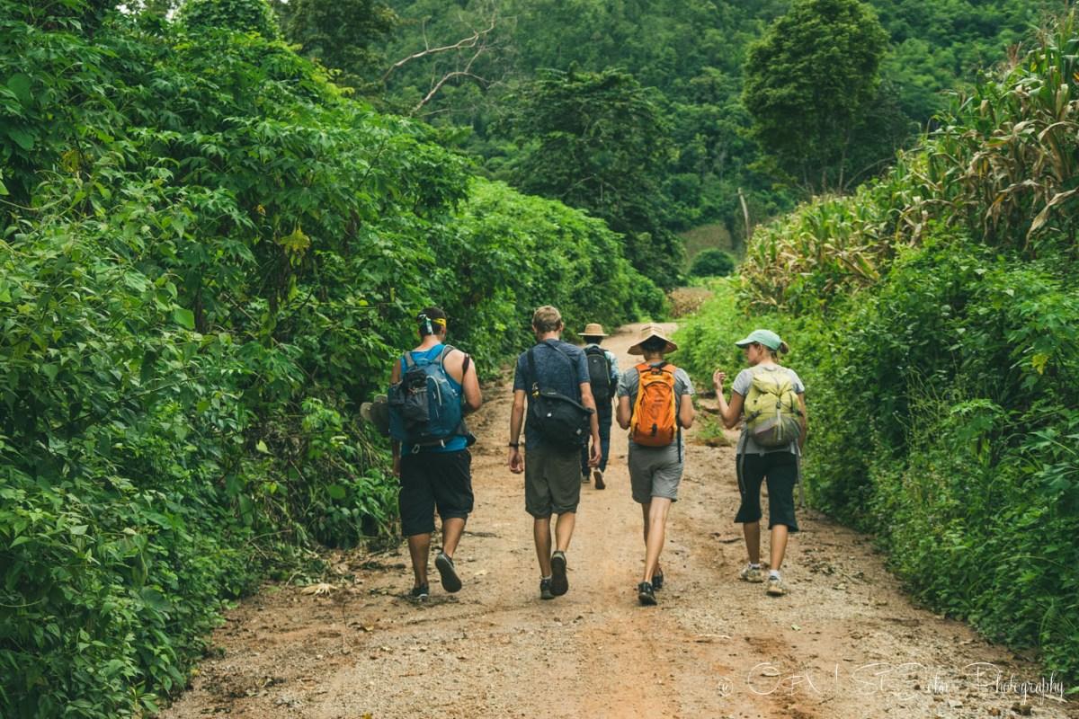 Trekking in Hsipaw, Myanmar