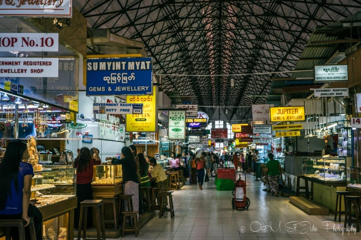 Bogyoke Aung San Market. Yangon. Myanmar