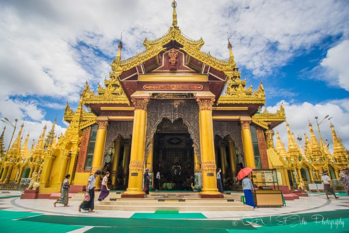 Shwedagon Pagoda. Yangon. Myanmar