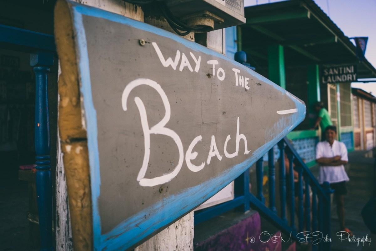 This way to the beach, San Juan del Sur. Nicaragua