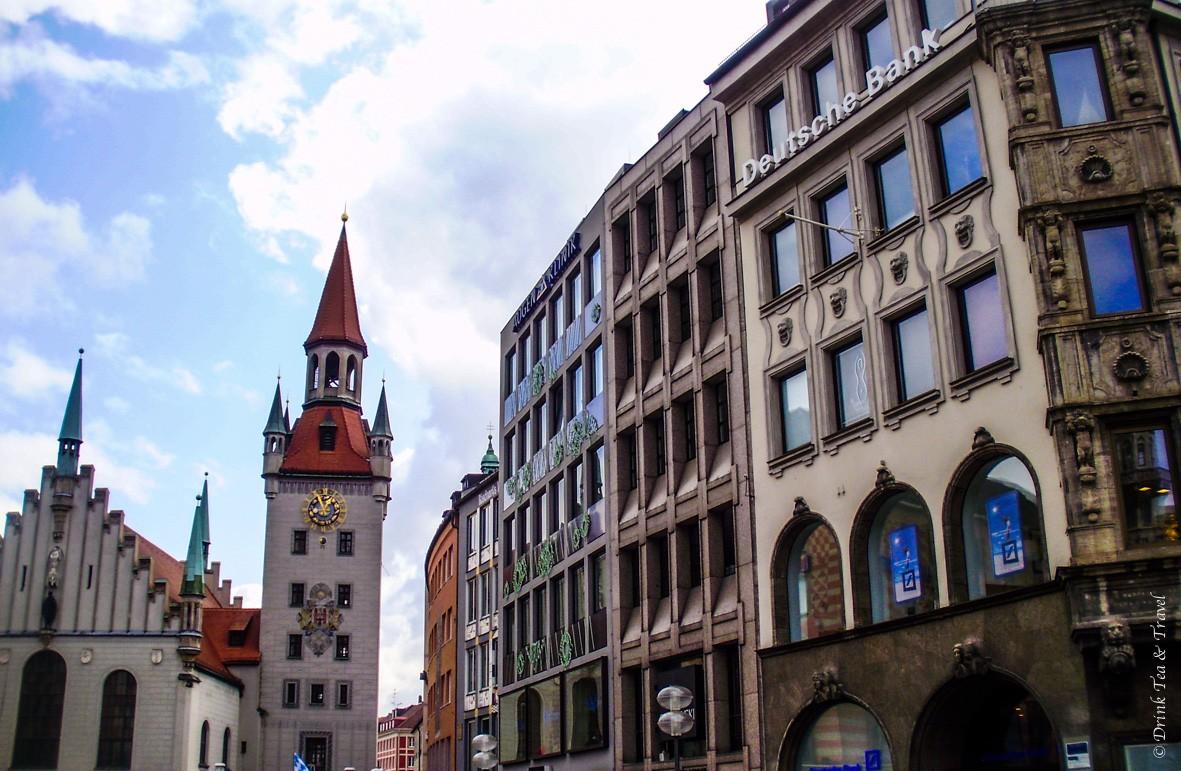 Around Marienplatz, Münich
