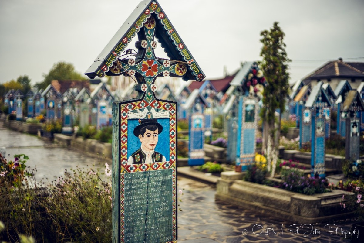 Merry Cemetery, Romania