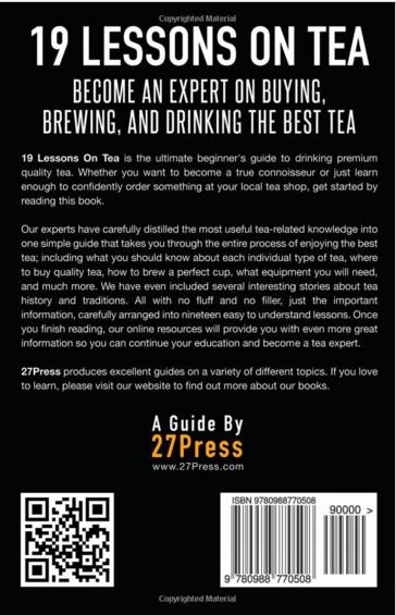 19 Lessons On Tea
