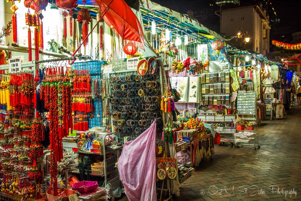 Shopping in Chinatown, Singapore