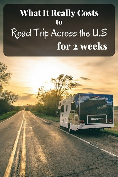 2 weeks, 3,000 miles and $2,382 later, we show you how our costs added up and how we traveled across USA for under $75/person