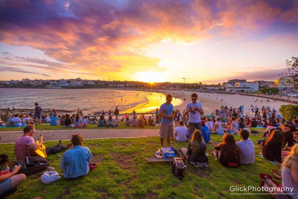 North Bondi grassy knoll, Sydney Photo credit: Glick Photography