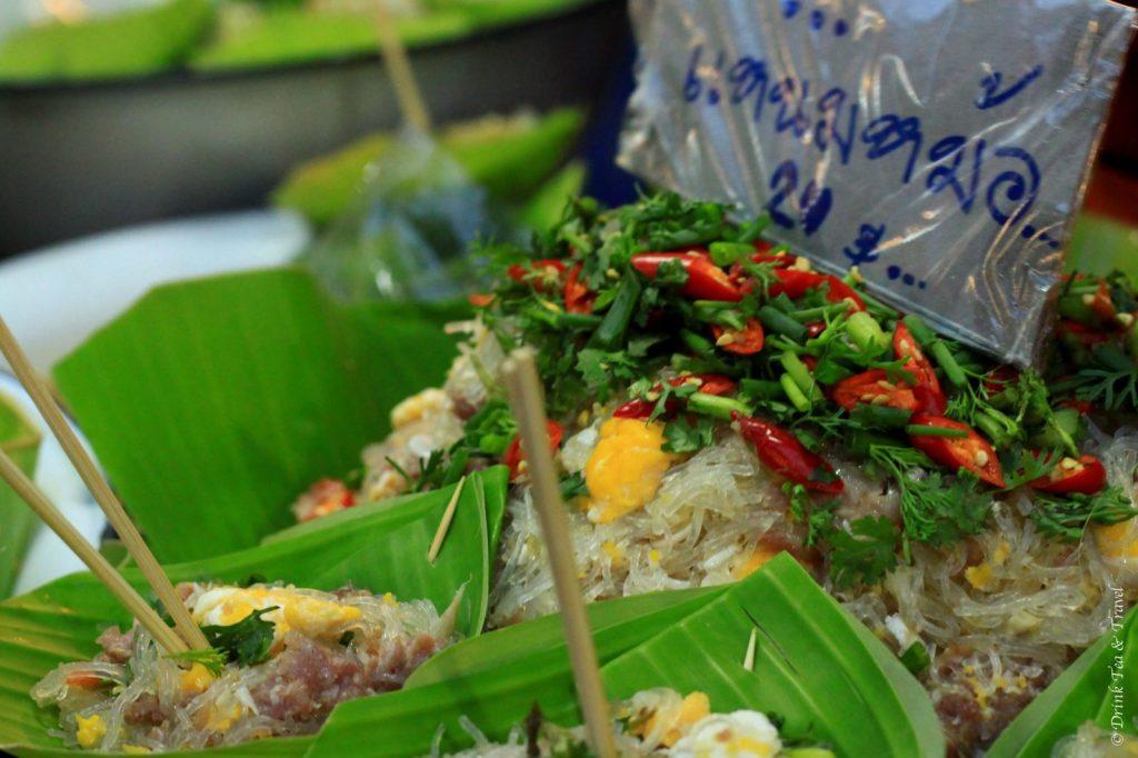Street food at the Chiang Mai Night Market, Thailand