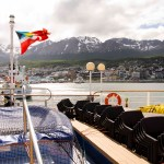Leaving Ushuaia Port