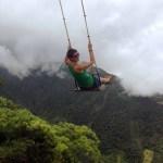 9Oct14 Day338 - Land End Swing, Banos, Ecuador