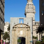 22Nov14 Day382 - Gate to Old Town, Montevideo, Uruguay